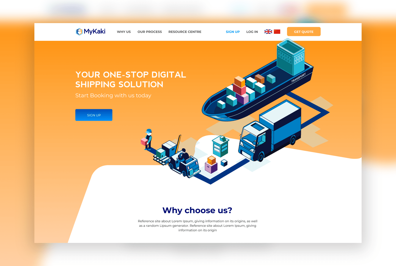 Mykaki Website